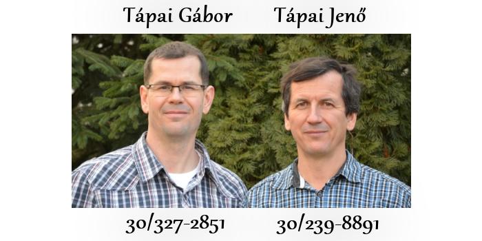 Tápai Gábor és Tápai Jenő